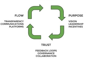 Purpose, Trust, Flow